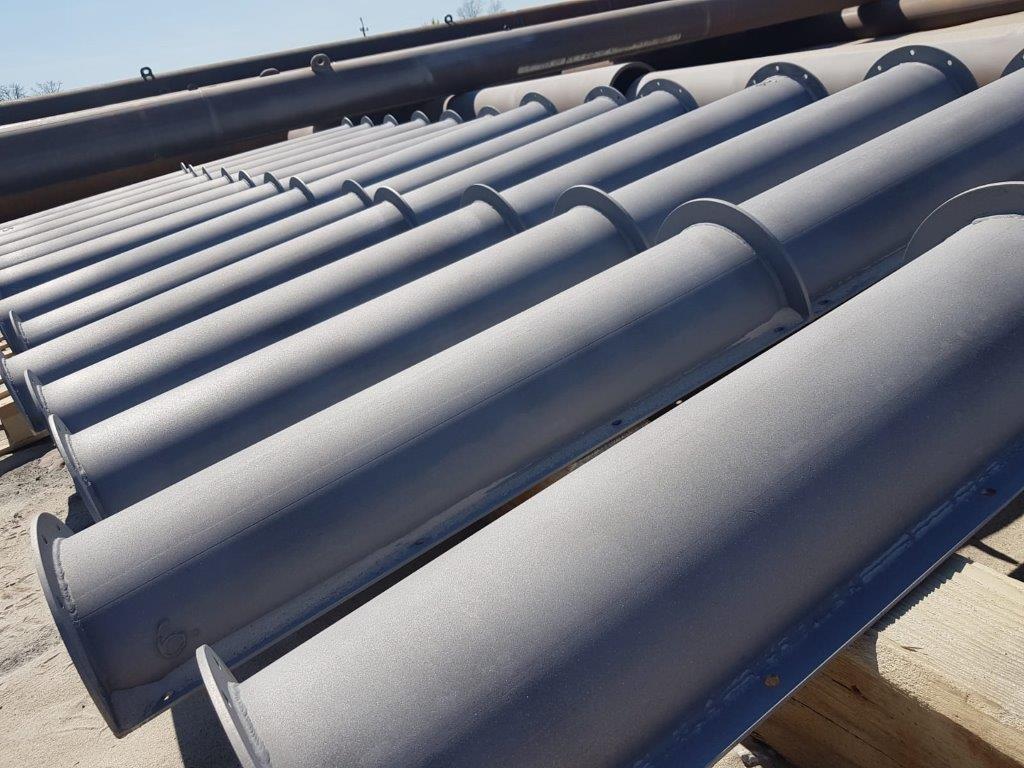 Serviceleistungen-Anarbeitung Stahlrohrhandel Mettner