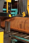 Saegeservice für Stahlrohre